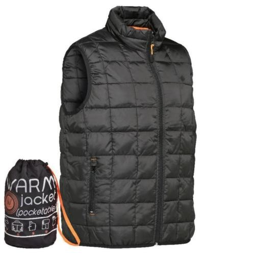 Percussion Weste Gilet warm - schwarz