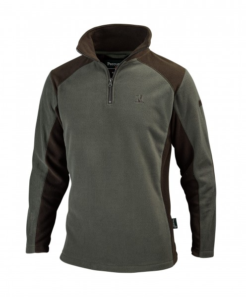 Percussion Herren Fleecepullover Polo Polaire